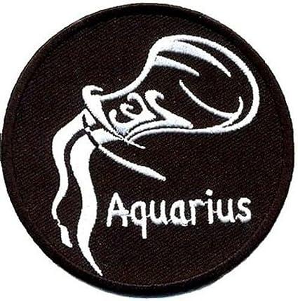 Amazon Aquarius Zodiac Star Sign Embroidered Motorcycle New