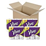 : VIVA Choose-A-Sheet* Paper Towels, White, Big Roll, 6 Rolls (Pack of 4)