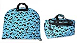 Ever Moda Whale Garment and Duffle Bag Set