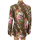 Aniywn Women's Vintage V-Neck Floral Printed Shirt Button...