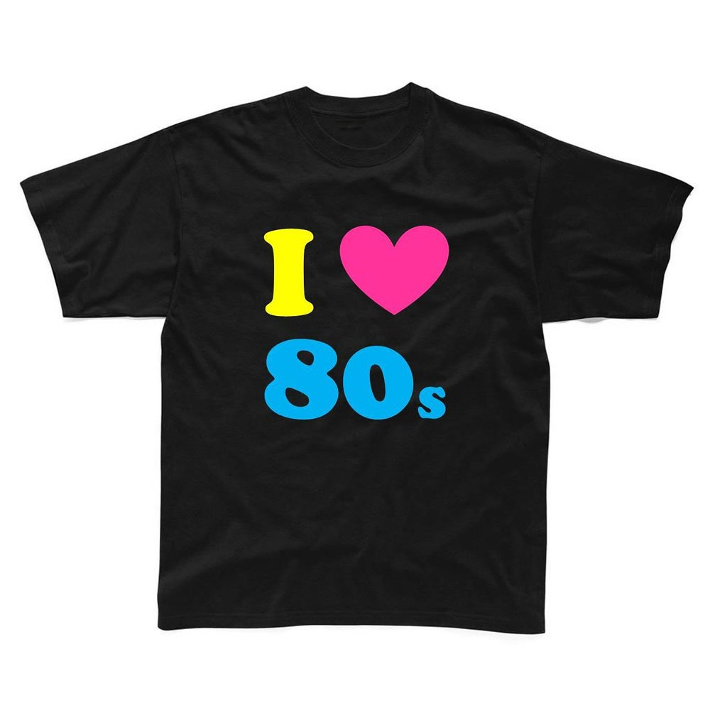 Loo Show S I Love The 80s S Funny Printed T Shirt Tee