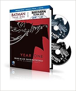 Amazon batman year one book dvd set 9781401260040 frank amazon batman year one book dvd set 9781401260040 frank miller books fandeluxe Gallery