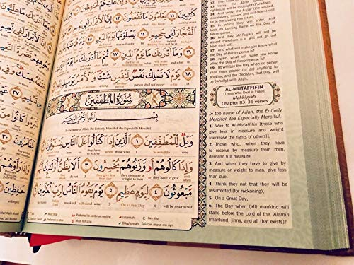 MAQDIS Al Quran Word for Word Translation Colour Coded