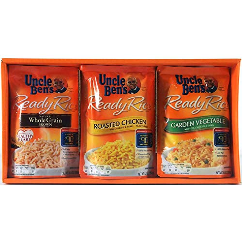 Uncle Ben's Ready Rice 6 Pouch Value Assortment Box