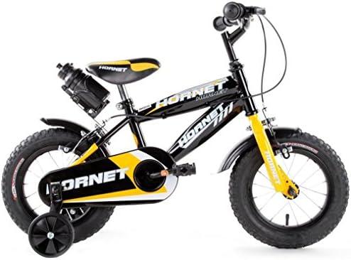 SCHIANO Hornet, Bicicleta para niño, Color Amarillo, Talla única ...