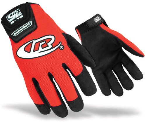 Ringers Gloves 135 Authentic Glove, Red, Large