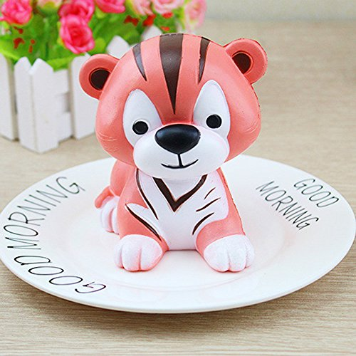 Phone Collection Body Mobile Charm - Rosiest Squishy Toys,Tiger Squeeze Toy Squishy Slow Rising Decompression Squeeze Toys