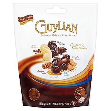 Guylian Belga Chocolates Grandes Temptations Bolsa 522g: Amazon.es: Alimentación y bebidas