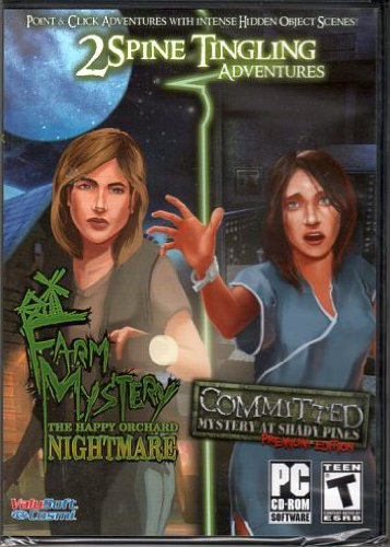COMMITTED Mystery At Shady Pines + FARM MYSTERY The Happy Orchard Nightmare ~ Hidden Object 2 Game - Orchard Stores The At