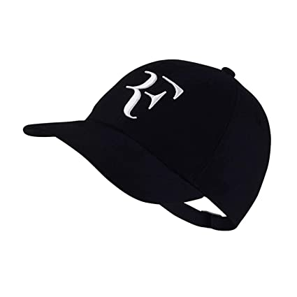 d5adc10005d Hat Sport Baseball Cap 100% Cotton 3D Embroidery Unisexcaps Tennis hat F  Hats
