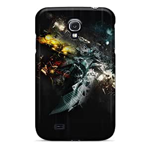 For Casesmore166 Galaxy Protective Cases, High Quality For Galaxy S4 Abstract 3d Skin Cases Covers Black Friday