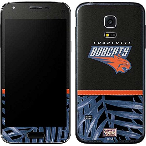 NBA Charlotte Hornets Galaxy S5 Mini Skin - Charlotte Bobcats Retro Palms Vinyl Decal Skin For Your Galaxy S5 Mini