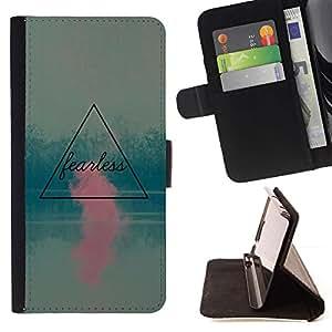 For LG G3 Case , Rosa motivación trullo Cita- la tarjeta de Crédito Slots PU Funda de cuero Monedero caso cubierta de piel