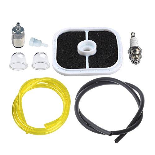 (HIPA A226000351 Air Filter with Fuel Line Filter Spark Plug for ECHO ES255 PB251 PB255 PB255LN PB265L PB265LN Blower)