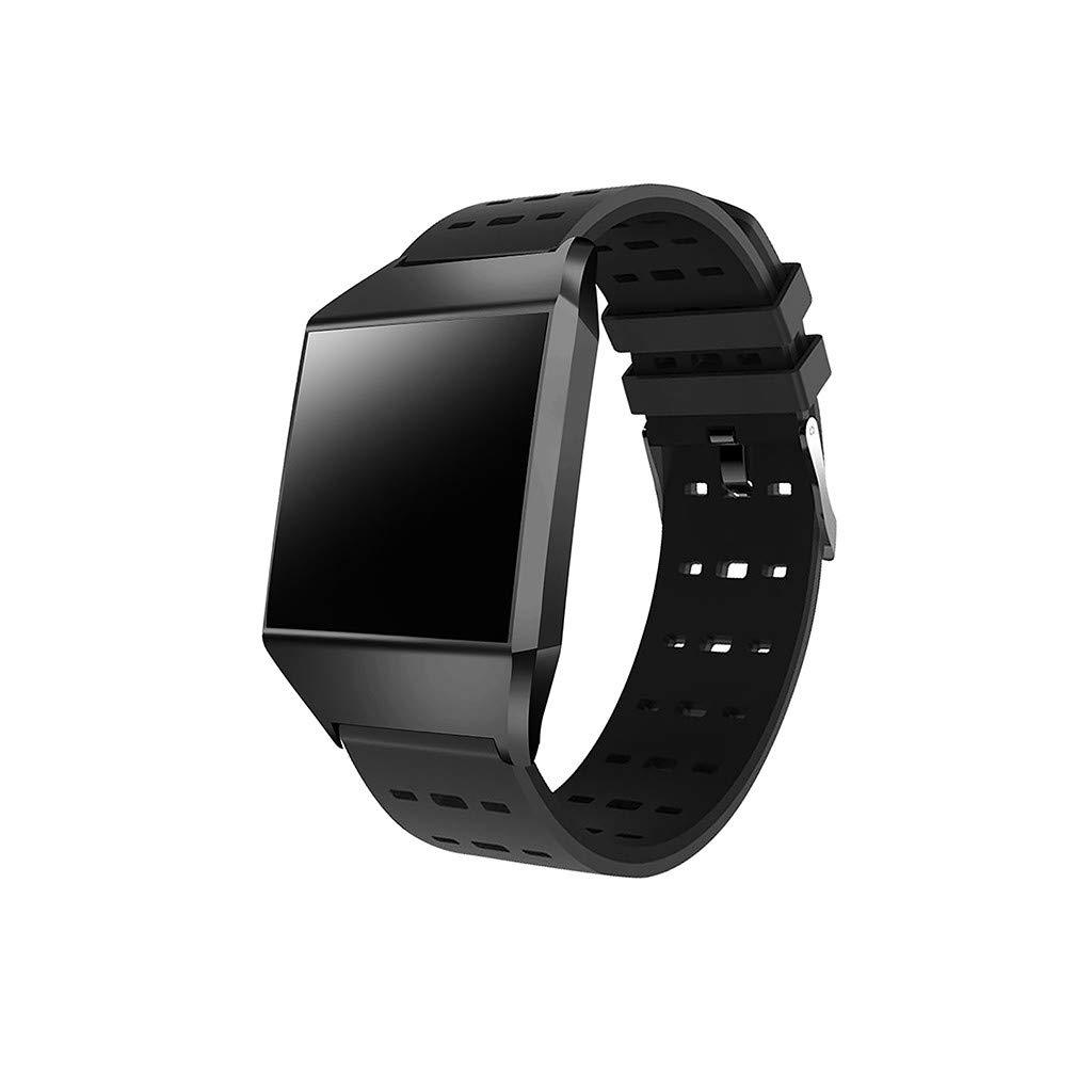 Beisoug Smart Watch Deportes Fitness Actividad Monitor de Ritmo ...