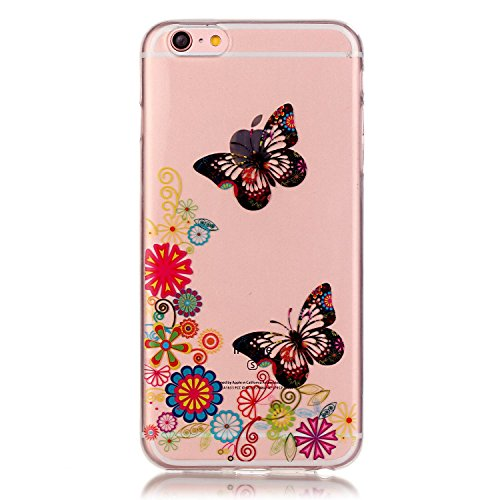 Dollar Faceplate (iPhone 6S Case, Firefish iPhone 6 Cases Soft TPU Durable Bendable Shock Absorption Bumper Anti Scratch Case for Apple iPhone 6/6S 4.7