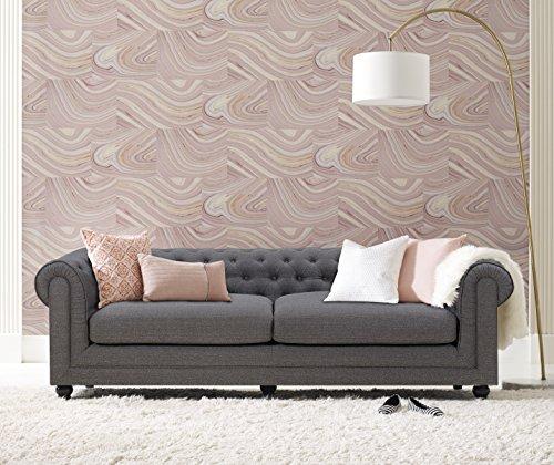 Elle Decor Amery Tufted Sofa, Fabric, French Gray