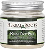 Herbal Roots Neem Face Pack - Anti Acne Pimple Care And Pimple Remover- 100 Gm