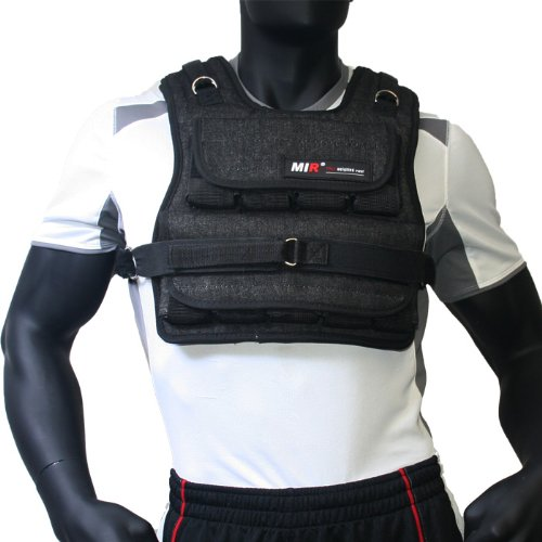 MIR - 40LBS (AIR FLOW) UNISEX ADJUSTABLE WEIGHTED VEST by miR