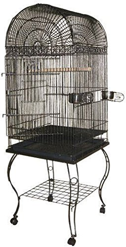 A&E CAGE COMPANY 001046 Platinum Economy Dome Top Bird Cage, 20 x 20 x 58