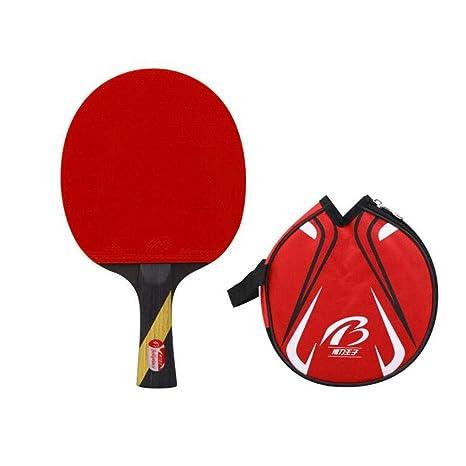 KUANDARPP Ping Pong Raqueta De Tenis De Mesa Ping Pong Mango ...