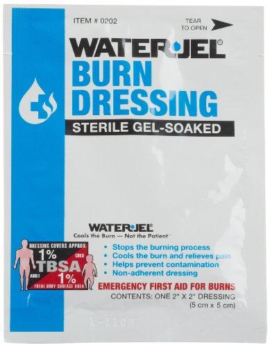 Waterjel 2509 Water-Jel Sterile Gel-Soaked Burn Dressing, 2
