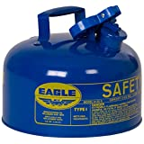 Eagle UI-25-SB Blue Metal Safety Gas Can, 2.5 Gal Capacity