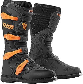 Thor Blitz XP 2019 Enduro Motocross MX Charcoal Bottes Orange