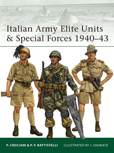 - Italian Army Elite Units & Special Forces 1940-43