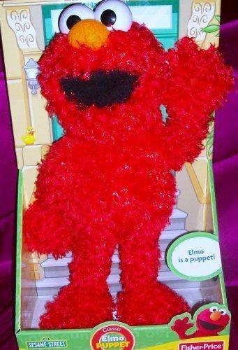 Fisher Price Elmo Full Body 20 Puppet Plush Doll Toy by Mattel [parallel import (Elmo Full Body)