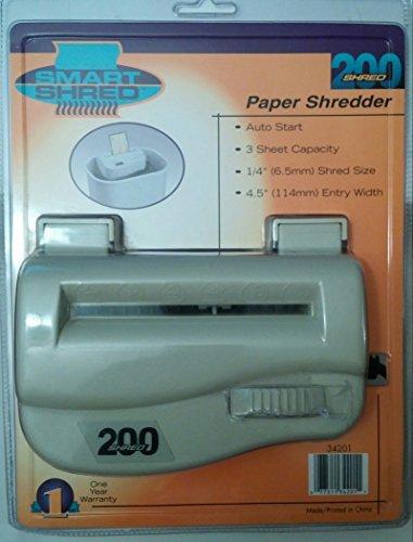 Smart Shred 200 Paper Shredder