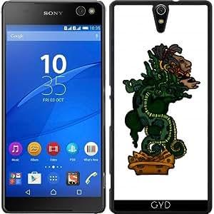 Funda para Sony Xperia C5 Ultra Dual - Dios Serpiente Maya by Adamzworld