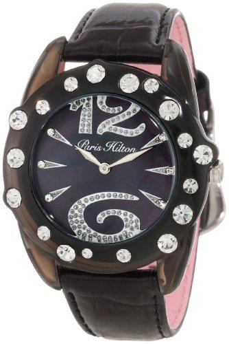- Paris Hilton Women's PH.13108MPB/30 Ice-Glam Large Crystallized Numbers Watch