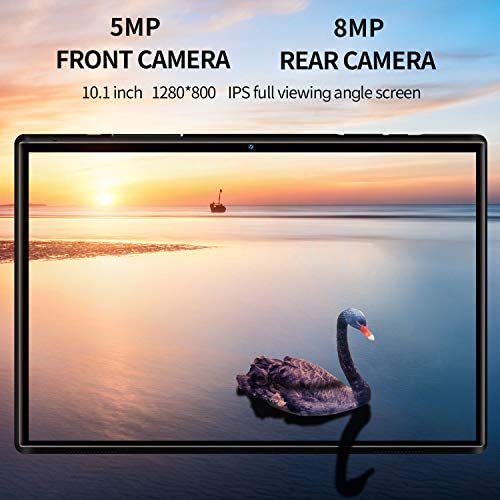 10.1 inch Tablet with Keyboard Case Quad-Core 1.3Ghz Processor, 3 GB RAM, 32 GB Storage, Android 9.0 (Go Edition) 1280×800 IPS HD Display, 8MP Rear Camera, Bluetooth, Wi-Fi, USB, GPS-Black 51LGYfEn3dL