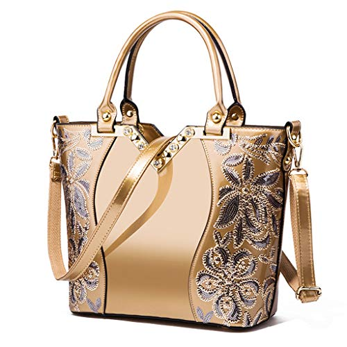 Lxf20 Sac Or à Bag femme à Sac main pour à bandoulière main Sac Aristocratique PU Lady rZ5rB6qwz