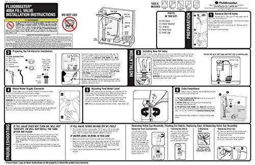 how to fix fluidmaster 400
