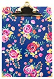 Bloom Daily Planners Letter Size Clipboard - 9'' Wide x 12.5'' Tall - Vintage Floral