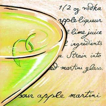 (Louise Max - Sour Apple Martini NO Longer in Print - Last ONE!!)