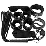Want to play a game with your lover just like the FIFTY SHADES OF GREY?  Now we present you the Body Kit !  You can easily install the strap and tie up your lover with the cuffs. Burning the fire of passion and enlighten a new sexy world.  The game w...