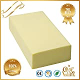 Big Cleaning Sponge Super Absorbent Water Thicken 17.5×7.5×3.5 cm Suction-Block Use for Household Car Wash Boots Shoes and Industry Clean dust and Dirt Furniture Bathtub Bathroom (Yellow)