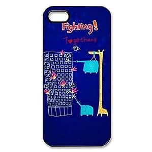 Animal Giraffe Style hard back protector case for iPhone 5c