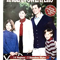 Complete Book of Raglan Sweaters, The - Knitting Patterns
