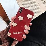 BONTOUJOUR iPhone XR Case, Beautiful Bling Heart