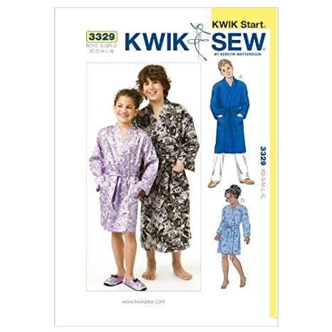 Amazon.com  Kwik Sew K3329 Robes Sewing Pattern 1fc0e9519