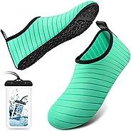 DigiHero Water Shoes Barefoot Quick-Dry Outdoor Beach Swim Sports Aqua Yoga Socks Slip-on for Women Men
