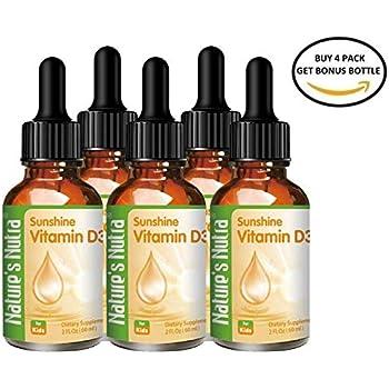 Amazon Com Nature S Nutra Vitamin A Amp D 2 Fl Oz 60ml