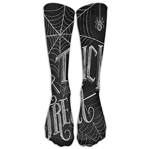 SVVOOD Unisex Rick Or Treat Athletic Sock Stocking Socks