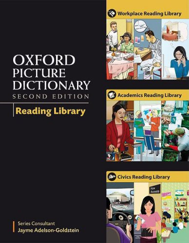 Oxford Picture Dictionary Reading Library Pack (9 books): All nine readers in one convenient pack (Oxford Picture Dictio