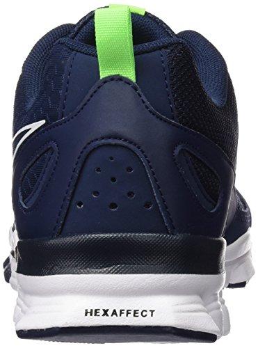 Reebok Herren Hexaffect Run LE Laufschuhe Azul / Verde / Blanco (Collegiate Navy / Solar Green / White)