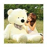 Fengheshun 6 Feet Giant Teddy Bear Stuffed Animal 70 Inch, White